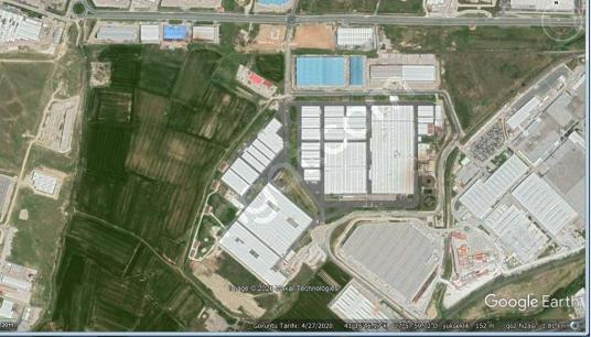 DİLOVASI 10.000M² SATILIK SANAYİ DEPOLAMA ARSASI BURADA - Açık Otopark