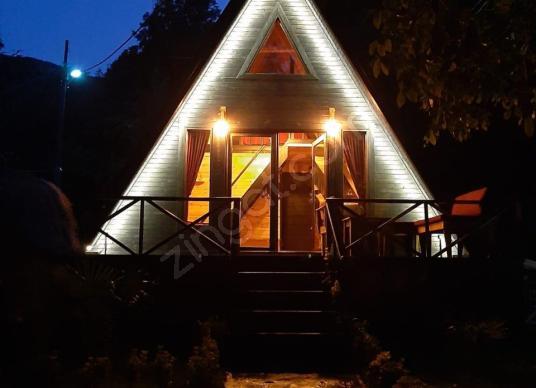 Sapanca'da Doğayla İç İçe 2+1 Bungalov - Sauna