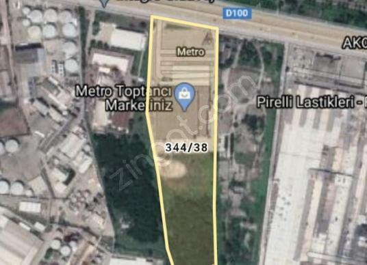 Kartepe bölgesinde 23.145m2 Ticari imarlı arsa satılıktır. - Kat Planı