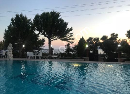Milas Kıyıkışlacık'da, Denize Sıfır Müstakil Villa REZERVE'den - Yüzme Havuzu
