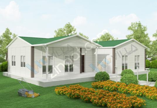 3+1 123 m² PREFABRİK EV