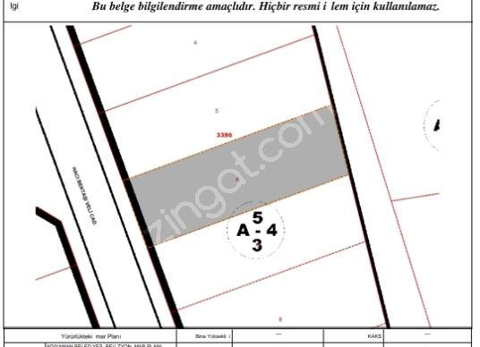 Adıyaman Merkez Yunus Emre'de Satılık 688 m2 Konut İmarlı Arsa