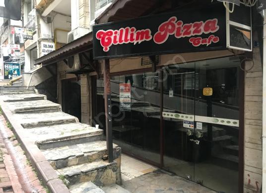 İZMİT MERKEZDE KİRALIK CAFE FETHİYE CADDESİNDE - Balkon - Teras