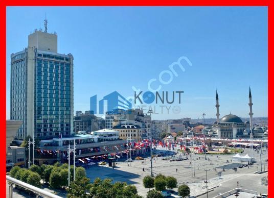 ** KONUT REALTY ** Taksim meydanı ve Gezi Parkı manz. teraslı