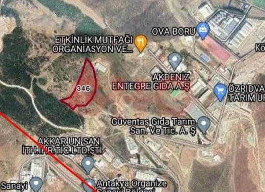 Antakya Organize Sanayi Bölgesine Komşu Satılık Arsa