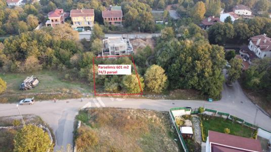 Çekmeköy Ömerli Ormankentte satılık 601 m2 imarlı arsa - Manzara