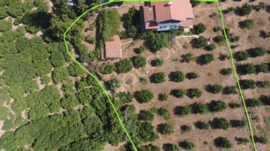 Menderes Çukuraltı'da Harika Çiftlik Evi - Arsa