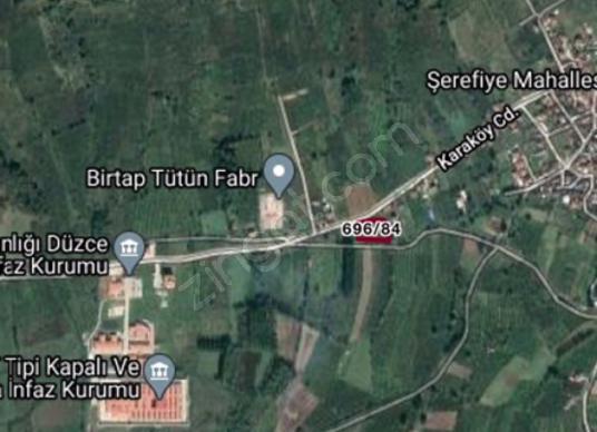 DÜZCE ÇİLİMLİ CEZAEVİ CADDE ÜZERİ VE ARA YOL BAĞLANTILI 1000 m2 - Harita