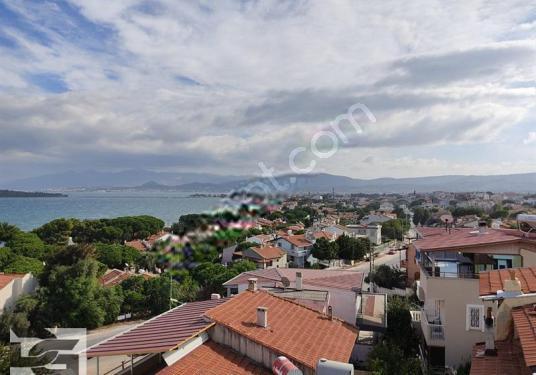 Urla İskele'de Deniz Manzaralı 4+1 Sıfır Villa - Manzara