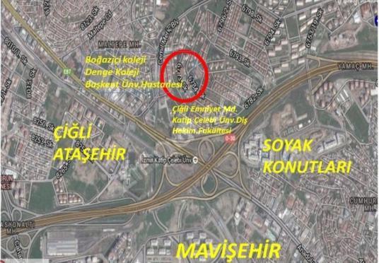Yusuf Eraslan'dan Çifte havuzlarda Satılık Kupon villa arsası - Harita