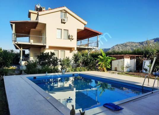 Muğla Dalyan da satılık yüzme havuzlu 2 bağımsız villa - Yüzme Havuzu