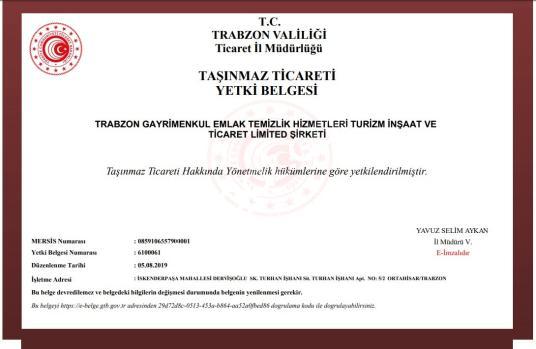 TRABZON DA SATILIK DAİRE - Logo