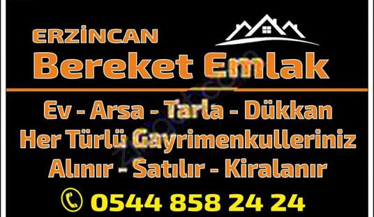 ERZİNCAN BEREKET EMLAK'TAN DEMİRKENT MH SATILIK 1 KAT DAİRE. - Logo