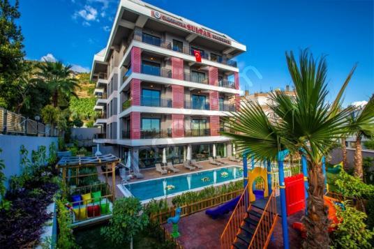 Alanya Saray mahallesi kleopatra da Denize yak Satılık 1+1 Daire