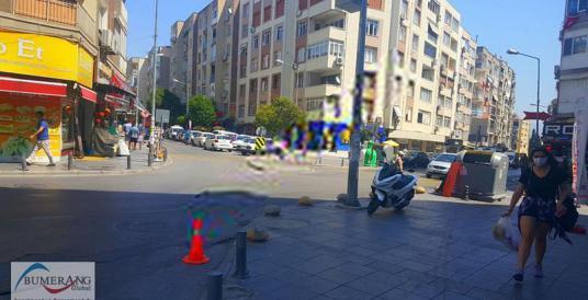 BORNOVA MERKEZ'DE HAZIR KİRACILI FIRSAT İŞYERİ - Sokak Cadde Görünümü