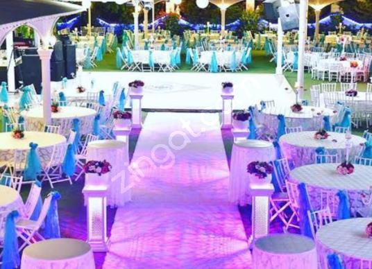 Devren Pınarbaşı'nda kiralık düğün salonu - Balkon - Teras