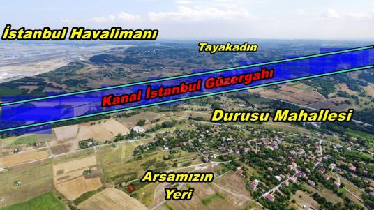 Sahibinden;  Kanal İstanbul Manzaralı 252m² Tek Tapulu Arsa.. - Arsa
