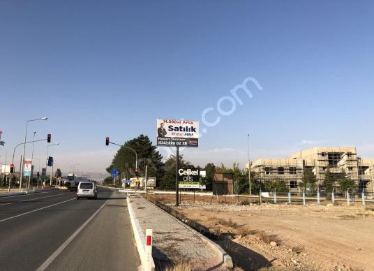 Elazığ Havalimanı'na Sıfır Kavşakta 14.000 m² Köşe Parsel Arsa - Sokak Cadde Görünümü
