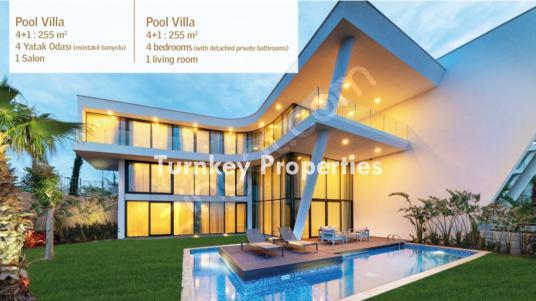 || Ödüllü Mimari Tasarım || Bahçe Dubleksi Villa Jakuzi/Havuz