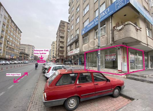 AKDAMAR - 7/24 Aktif Lokasyon - Kavşak Noktada Kiralık Dükkan !