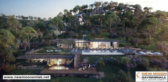 Bodrum Gölköyde Doğa İle İç İçe Muhteşem Ambiyanslı Harika Villa - Manzara