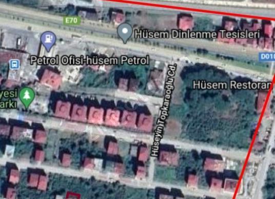 Gülyalı Yeniköy'de Satılık Konut İmarlı 296 M2 satılık arsa - Harita