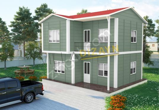 3+1 105 m² Dublex Prefabrik Villa