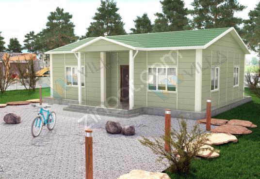 3+1 PREFABRİK EV 82 m²