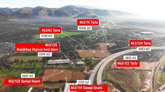 Bayındır Sanayi Sitesi yakını Yola Cepheli Arsalar - Arsa