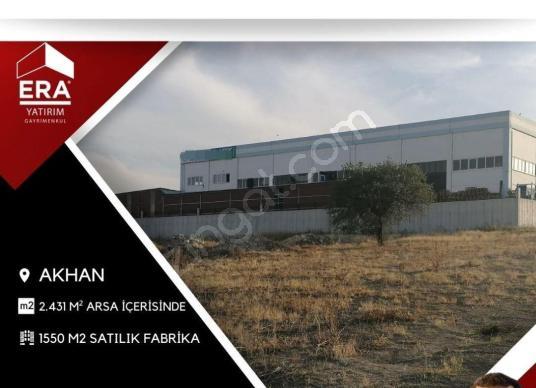 Akhanda 2.431 M² Arsa İçerisinde 1.925 M2 Satılık Fabrika