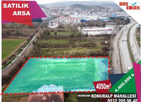 Hak Emlak'tan Konuralp'te Yatırımlık 4050 m2 Arsa