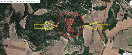 Bilecik Gölpazarı Aktaş Köyünde Satılık 10828 M2 Tarla