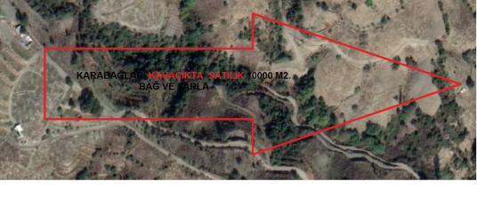 Karabağlar Kavacık ta Satılık 10000 M2. Tarla - Harita