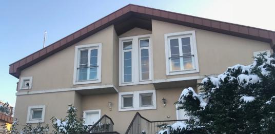 Uskumruköy - Zekeriyaköy Tepora Evleri Muhteşem Çatı Dubleksi