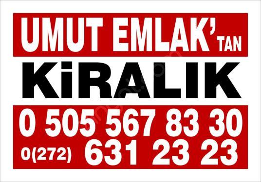 ÇAY'DA CADDEDE KİRALIK DÜKKAN.150 M2. - Logo
