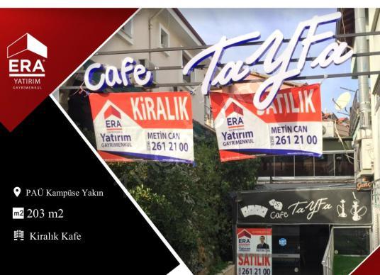 PAÜ Kampüse Yakın 203 m2 Kiralık Kafe