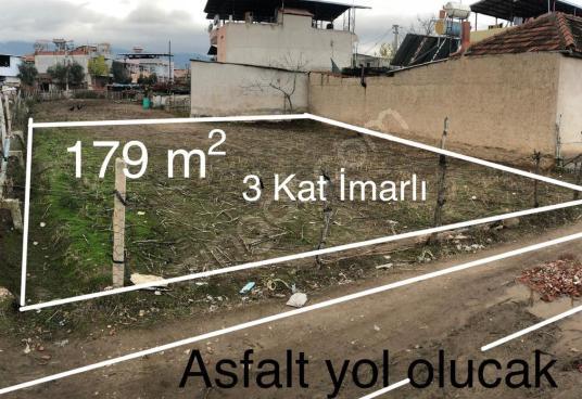 MANİSA AHMETLİ'DE 179m2 KONUT İMARLI SATILIK KÖŞE ARSA - undefined