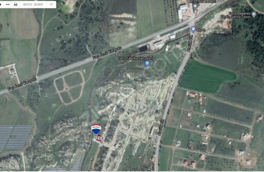 FOÇA GERENKÖY'DE KÖŞE CEPHELİ %40 KONUT İMARLI 300m2 - Harita