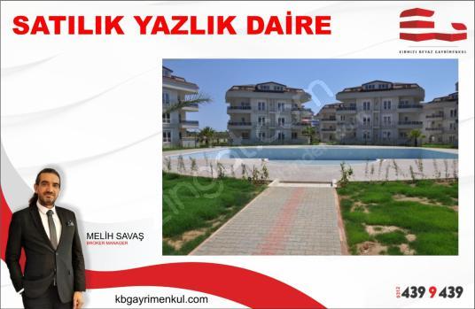Alanya Türkler'de Deniz Manzaralı Site İçinde 3+1 Satılık Daire