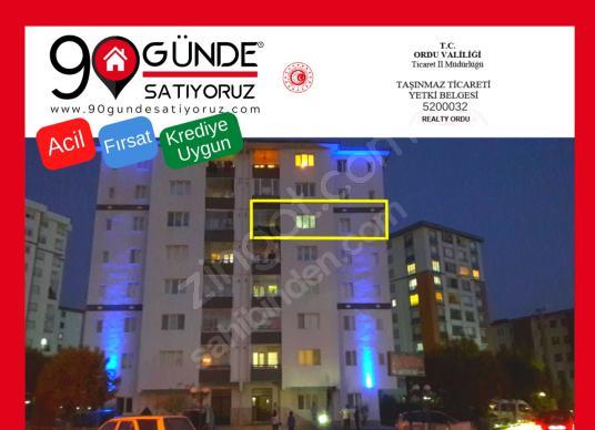 REALTY ORDU'DAN GENİŞ BAHCELİ 3+1 135m2 MANZARALI SİTE DAİRESİ