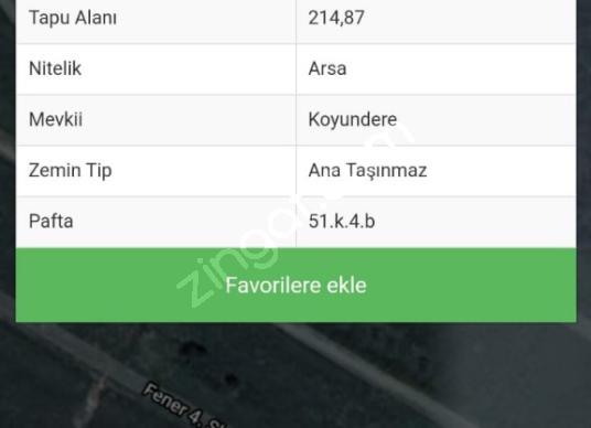 ARMUTLU 'DA 214m2 İMARLI ARSA - undefined