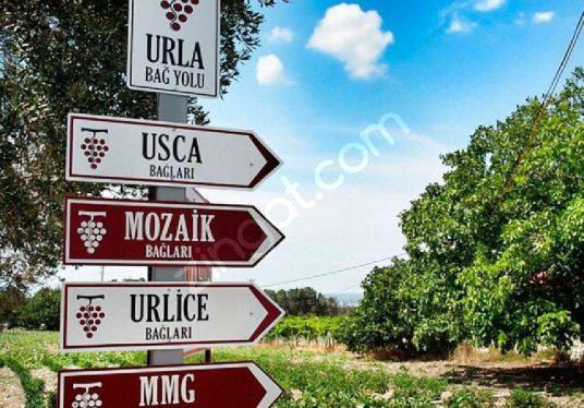 URLA YAĞCILAR / SATILIK 210 DÖNÜM ARAZİ / ( 4 EV ) - undefined