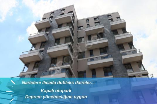 NARLIDERE ILICADA SATILIK SIFIR DUBLEKS DAİRE MERYOLDAN - Dış Cephe