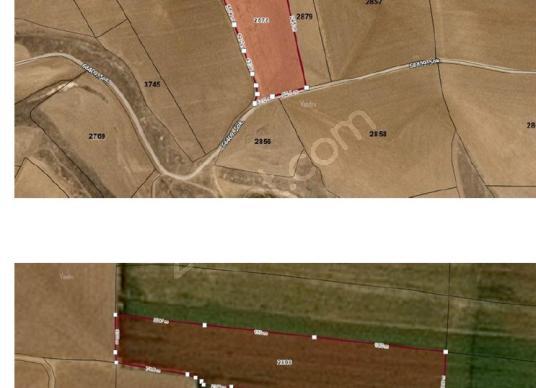 KONYA CİHANBEYLİ'DE 2 PARSEL DE SATILIK TARLA - Kat Planı