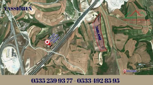 ARNAVUTKÖY YASSIÖREN MEVKİNDE 320 m2 SATILIK DEĞERLİ TARLA - Harita