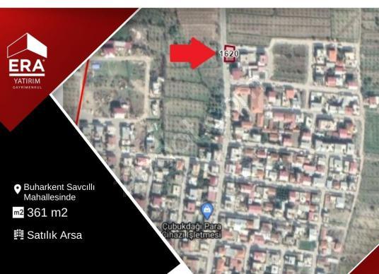 Buharkent Savcıllı Mahallesinde Köşe Parsel 361 m2 Satılık Arsa