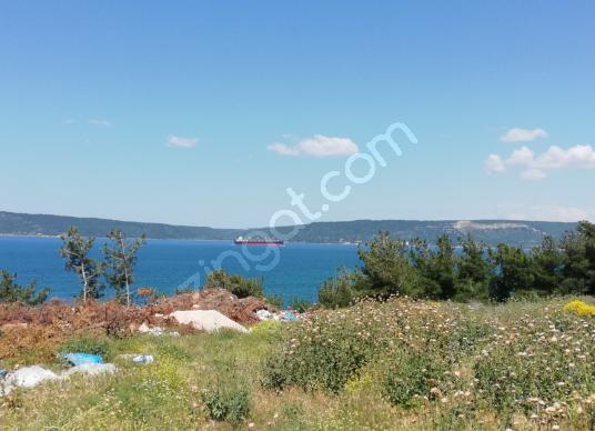 Çanakkale de satılık denize sıfır 60.000 m2 turizm imarlı arsa - Manzara