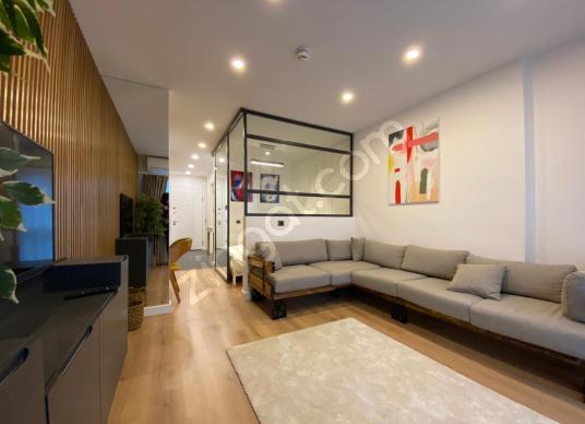 Avangart İstanbul 1+1 Bölümlü Sıfır Eşyalı Lüx Residence/vadi- - Salon