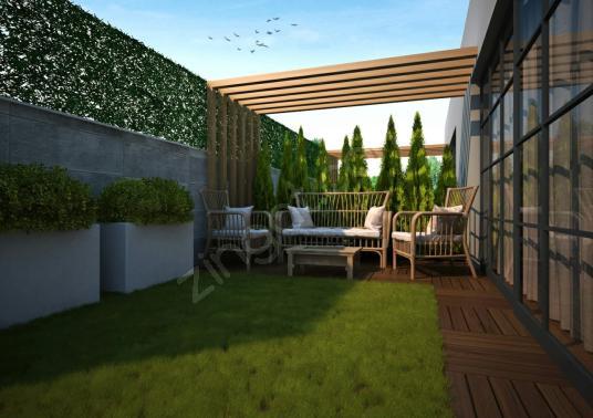 Buca Yenigün Mahallesi Satılık Seçenekli Süperlüx Triplex Villa - Balkon - Teras