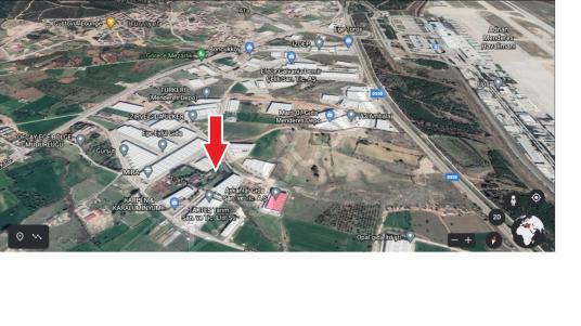 Ticari İmarlı İzmir Menderes İzdep Bölgesi Satılık Arsalar - Açık Otopark